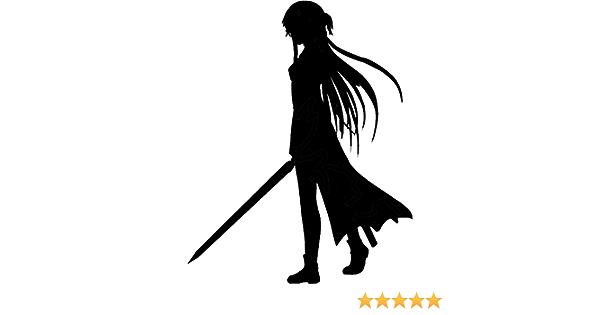 Waterproof Decal Anime Sticker Asuna Adult 01 Sword Art Online Vinyl