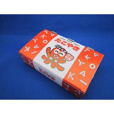 たこ焼き箱8個用(赤) 600枚入り   B00HFN35DY