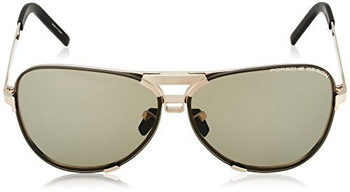 Porsche Design Men's P8678 P/8678 Square Fashion Sunglasses 67mm