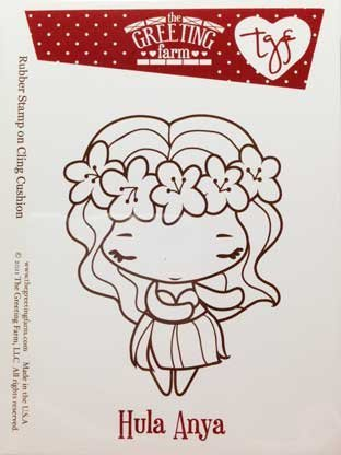 The greeting farm hula anya rubber stamp by the greeting farm llc the greeting farm hula anya rubber stamp by the greeting farm llc m4hsunfo