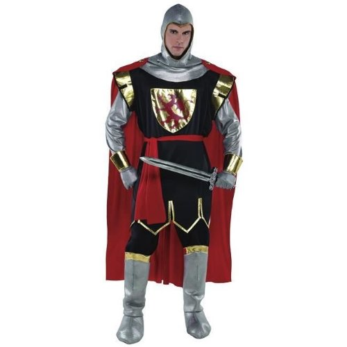 Christy`s Brave Crusader Knight Adult Standard Fancy Dress Costume (Mens Crusader Knight Costume)