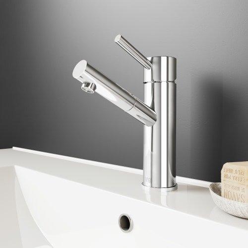 Vigo VG01009 Bathroom Sink Waterfall Faucet by Vigo