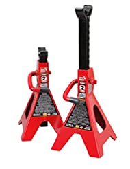 Torin Big Red T42002 Steel Jack Stands: 2 Ton Capacity, 1 Pair