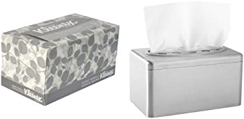 Kleenex Stainless Steel Box Towel Covers & 18 Boxes