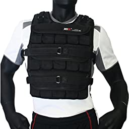MIR® - 50LBS PRO (LONG STYLE) ADJUSTABLE WEIGHTED VEST