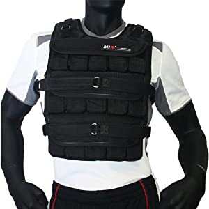 Mir 50LBS PRO (LONG STYLE) ADJUSTABLE WEIGHTED VEST