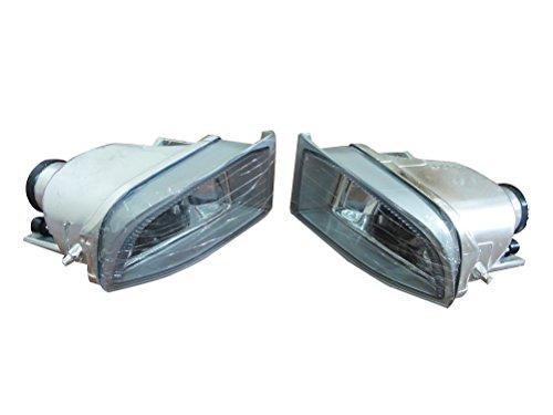 2Pcs Oem Bumper Driving Clear Fog Lights Lamps Driver/Passenger Side Pair For Toyota Land Cruiser FJ120 Prado 2002-2008 (Toyota Prado Lamp compare prices)