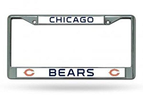 Rico Chicago Bears Chrome License Plate Frame
