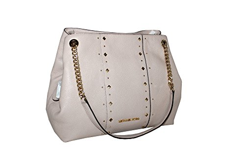 MICHAEL Michael Kors Women's Jet Set Item Large Shoulder STUDDED Leather Handbag (Ballet) by MICHAEL Michael Kors