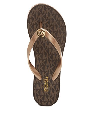 MICHAEL by Michael Kors Bedford Chanclas Mujer Oro