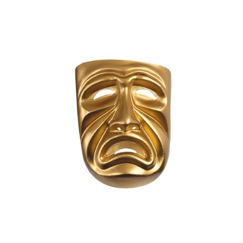Disguise Gold Tragedy Mask
