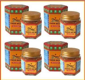6x 30g NIB Big Jar Tiger Balm Red Thai Original Massage Spa Pain Relief free shipping thailand
