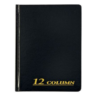 12 Column Cloth Cover Account Book (Set of 6) [Set of 6]