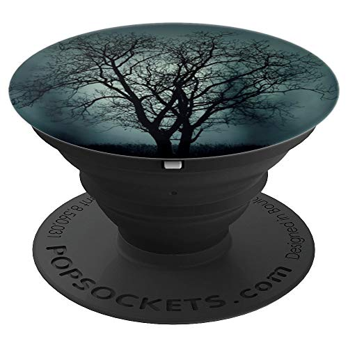 Spooky Halloween Tree Phone Accessory - PopSockets Grip and Stand for Phones and Tablets