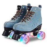 Unisex Roller Skates Classic High-top 4 Wheel