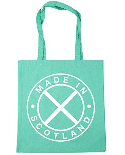 In x38cm Scotland litres Mint Shopping 10 42cm HippoWarehouse Bag Made Beach Tote Gym Fqzn5nBw