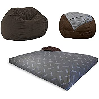 Amazon Com Cordaroy S Chenille Bean Bag Chair