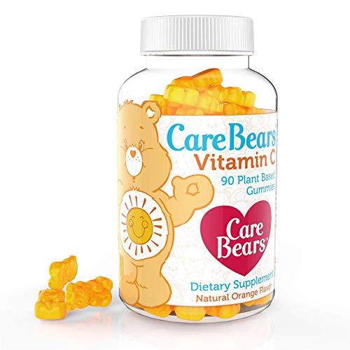 Care Bears Vitamin C Gummy Vitamin, All Natural, Vegan, Gelatin Free, Orange Flavored Children