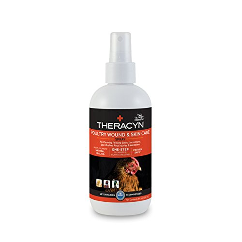 Manna Pro Theracyn Poultry Wound and Skin Care Spray