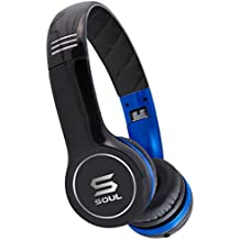 [Patrocinado] Soul by LUDACRIS Ultra Dynamic–Auriculares de diadema Azul/Negro