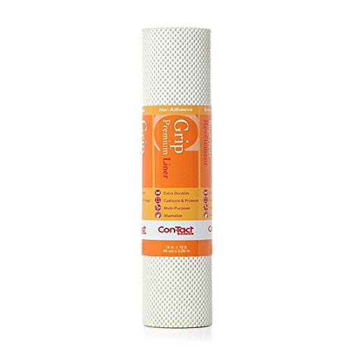 Con-Tact Brand Shelf Liner Contact Paper, 18-in. x 10-Ft, Bright White