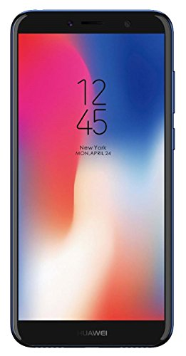 "Huawei Y6 2018 ATU-LX3 5.7"" FullView Display 16GB 2GB RAM DUAL SIM 13 MP + 2 MP 4128 x 3096 pixels Dual-LED flash A-GPS Fingerprint Factory Unlocked No Warranty US (Blue)"