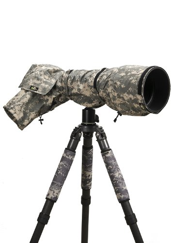 LensCoat RainCoat Pro (Digital Camo) Cover sleeve protection for Camera and Lens LCRCPDC