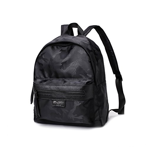 CQ Oxford Cloth Shoulder Bag Han Edition Mochila Chica Ocio Nylon Satchel Mujer (Color : Black, Size : 27*13*32cm) Black