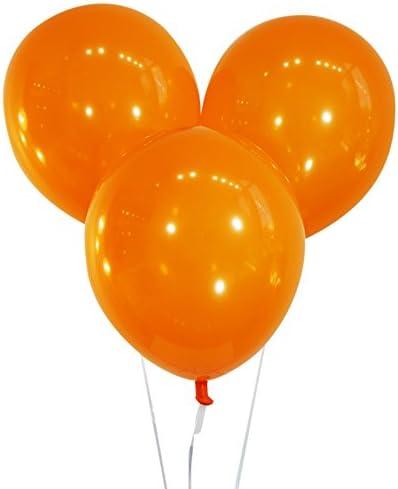 Wedding Balloons Party Balloons 11 Plain Latex Balloon Baby Shower Balloons Birthday Balloons Jewel Mandarin Orange Balloons