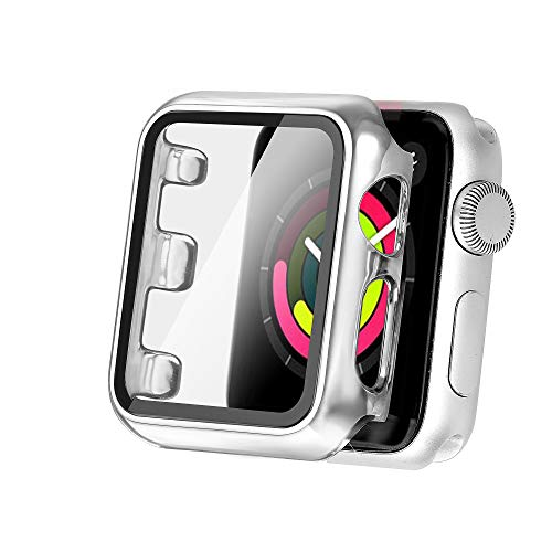 Funda Protectora,apple Watch Series 4 Series 5 44 Mm Silver