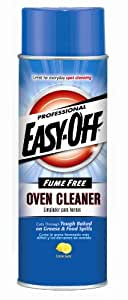 Easy-Off Professional Fume Free Max Oven Cleaner, Lemon 24 oz Can