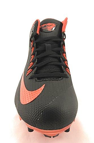 Mens Nike Alpha Pro 3/4 Td Voetbalklem (13, Zwart / Oranje Flits)