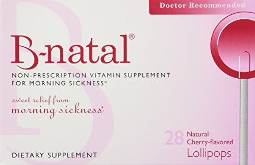 B-natal Morning Sickness Relief - Everidis Health Sciences B-natal TheraPops, Cherry, 28-Count Boxes