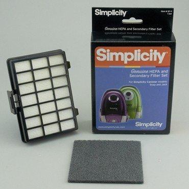 SIMPLICITY JACK/SNAP HEPA FILTER
