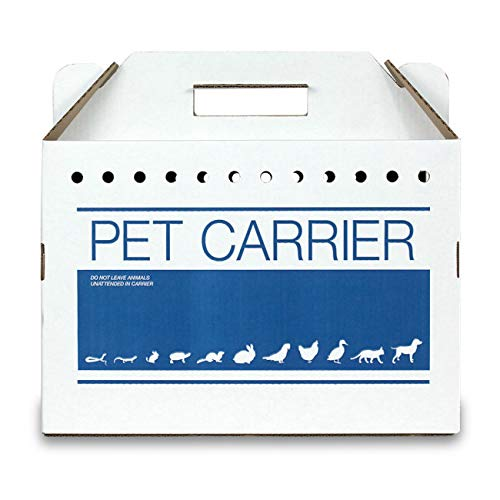 - Revival Animal Health Cardboard Pet Carrier 12pk