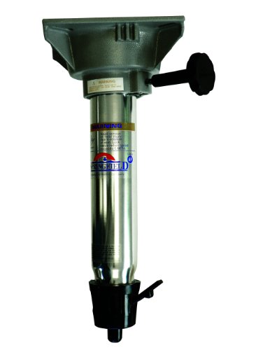Springfield Marine Co 13-Inch Pedestal Post with Swivel Seat Mount