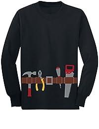 Workman Tool Belt Halloween Handyman Costume Toddler/Kids Long sleeve T-Shirt