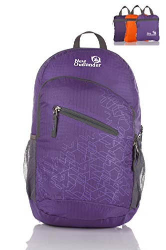 tweight Packable Water Resistant Travel Hiking Backpack Daypack Handy Foldable Camping Outdoor Backpack ()