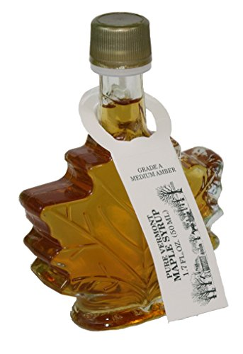 Butternut Mountain Medium Amber Leaf 1.7 Oz Bottle Vermont Maple Syrup