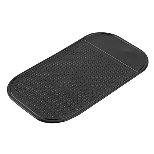 Anti-Slip Car Dash Sticky Pads,Baynne Silicone Non-Slip Mats,Dashboard Holder,Leave no Residue Don't Melt Under Hot Temperature, Reusable After Washing Off Dust Leave no Residue Don' t Melt Under Hot Temperature
