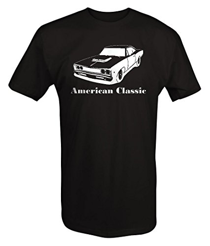 American Classic Plymouth Mopar Dodge Super Bee Muscle Car T shirt - Large ()