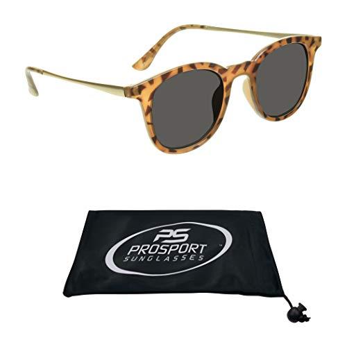 proSPORT Reader Sunglasses Men and Women Full Lens No Line Reading Sunglasses - Not Bifocal
