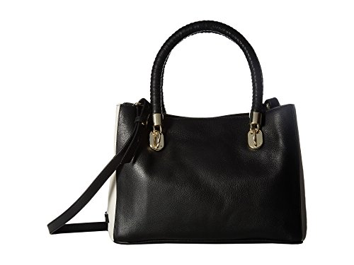 Cole Haan Women's Benson Small Tote Black/Ivory Handbag