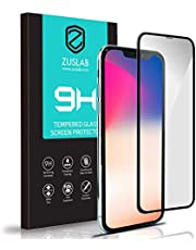 """ZUSLAB Tempered Glass Screen Protector Compatible with Apple iPhone 11 Pro Max/iPhone Xs Max 6.5"""" Case Friendly 9H Hardness"""
