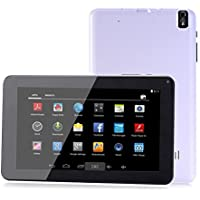 Goldengulf 9 Inch Quad Core Google Android 4.4 Tablet PC MID 1024X600 HD Resolution, Quad Core, WiFi, 8GB, 512MB DDR3, Camera, Supports Skype Video Chatting, YouTube, Google Play