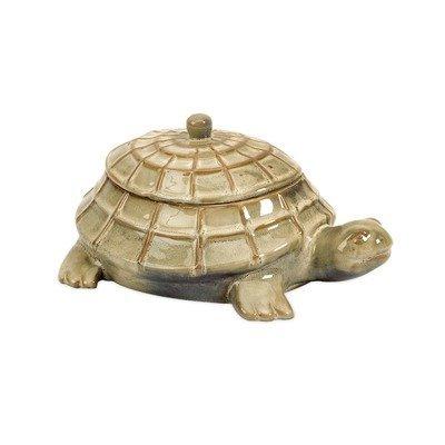 Imax Lidded Box - Imax CKI Merle Lidded Turtle Box
