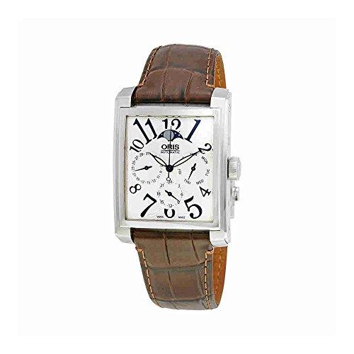 Oris Rectangular Automatic Silver Dial Mens Watch 582-7658-4061LS