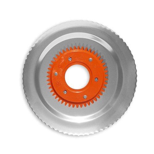 Wellenschliffmesser elektrolytisch poliert orange für RITTER Multischneider contura 3, linea 3, solida 4, solida 5, E 130 / 556120