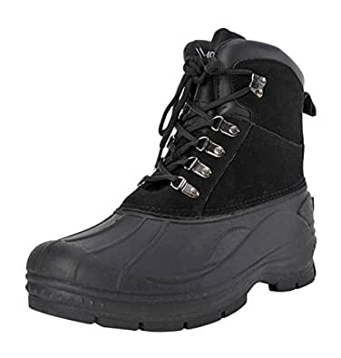Amazon.com | Khombu Men's Traveler Waterproof Winter Snow