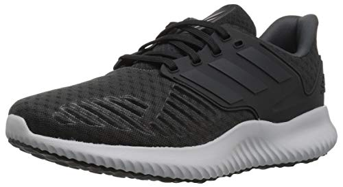 adidas Men's Alphabounce RC.2 Running Shoe Black/Trace Metallic/Grey, 11 M US